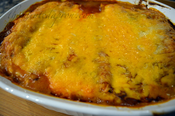 cheese enchiladas with veggies thepaintedapron.com