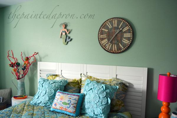 Mermaid Room thepaintedapron.com