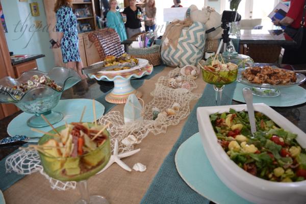 lunch buffet thepaintedapron.com