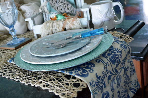 seaside plates