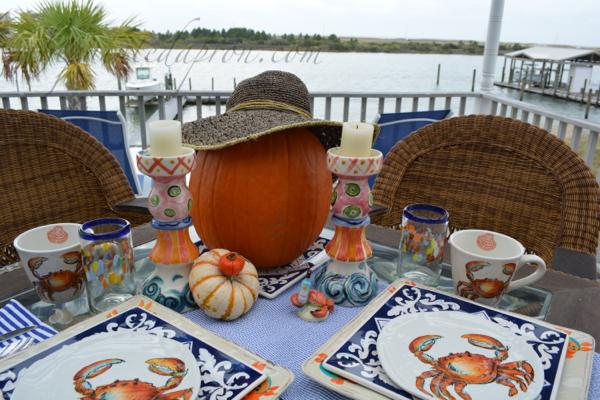 beach pumpkin
