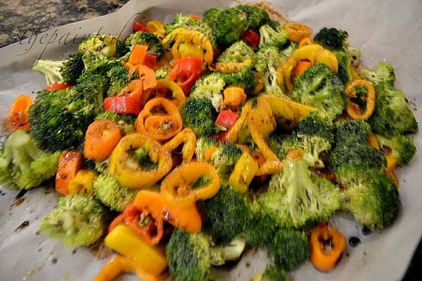 colorful broccoli
