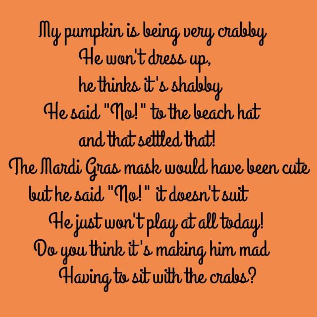 pumpkin poem 2