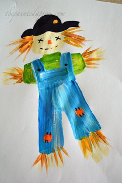 scarecrow thepaintedapron.com