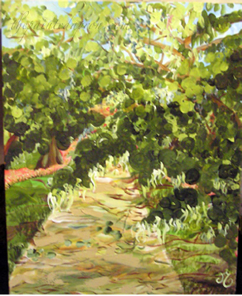 Shady Lane & Garden Paths