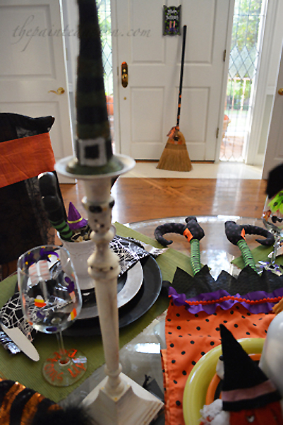 witch hats and brooms thepaintedapron.com