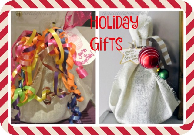 Holiday gift Collage