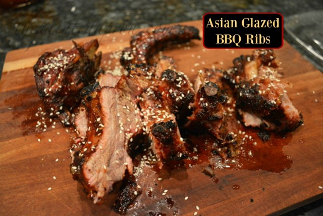 BBQ Asian glazed ribs