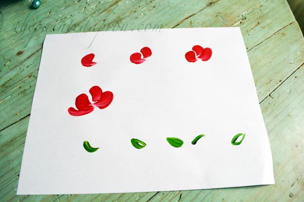 petal placements