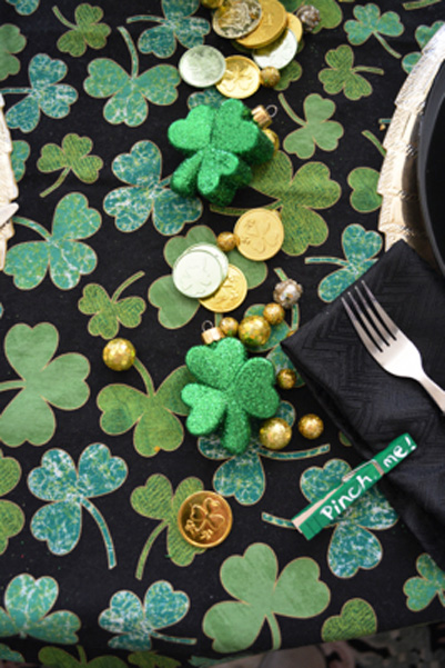 St Pats table