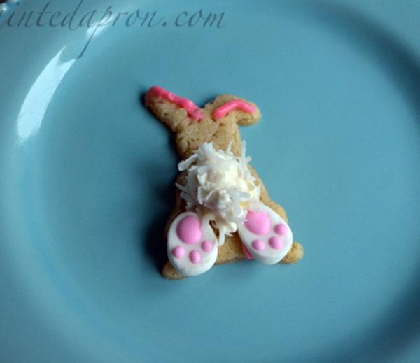 bunny bottom cookie