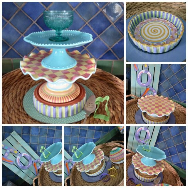 Easter Dessert Collage