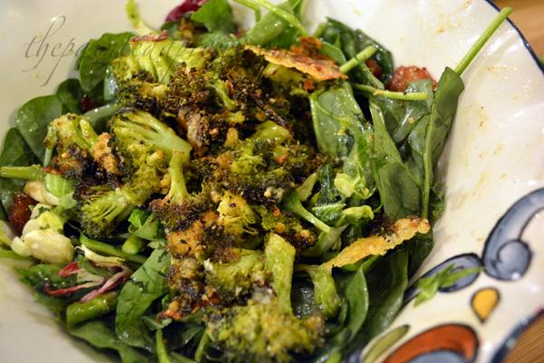 loaded vegetable salad