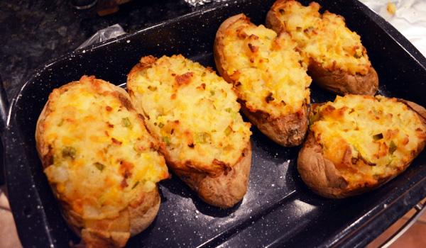 salad dressing potatoes