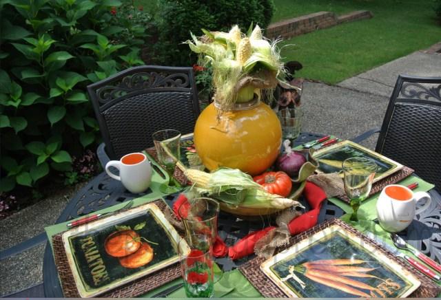 Vegetable Garden table