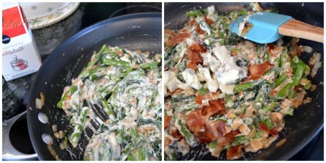 creamed vegetables