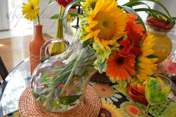 flower pitcher