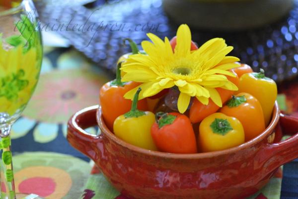 pepper flower arrangement