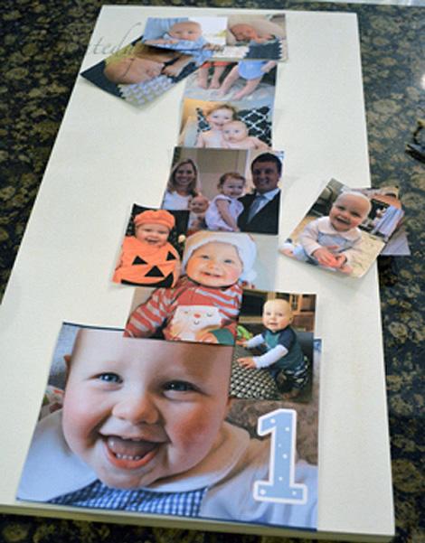 photo collage mock up