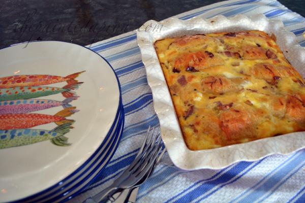 almond danish breakfast bake