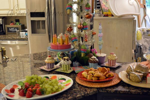 birthday buffet