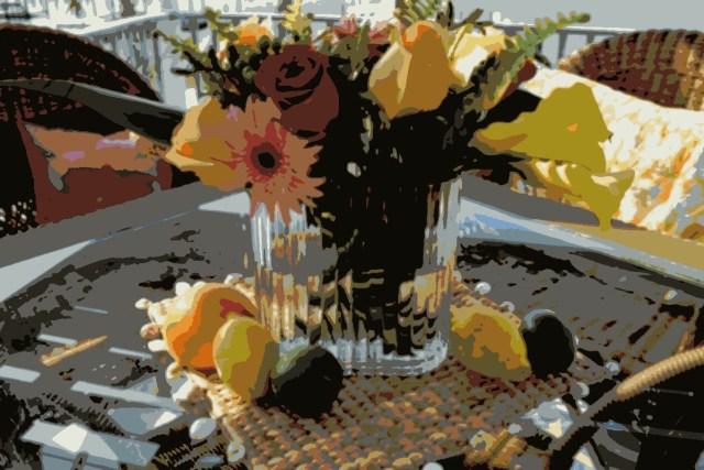 posterized bouquet