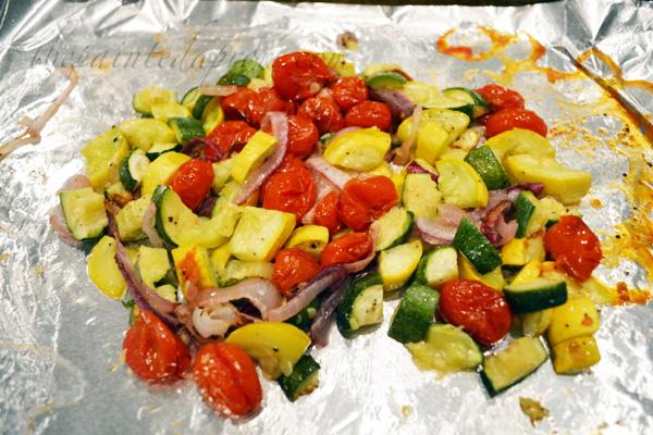 roasted vegetabls