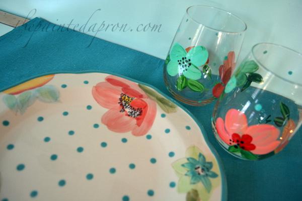 poppy dishware