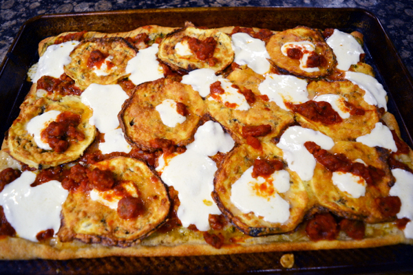 eggplant-parmigiana-sausage-pizza