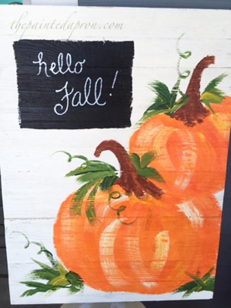 pumpkin-welcome-sign