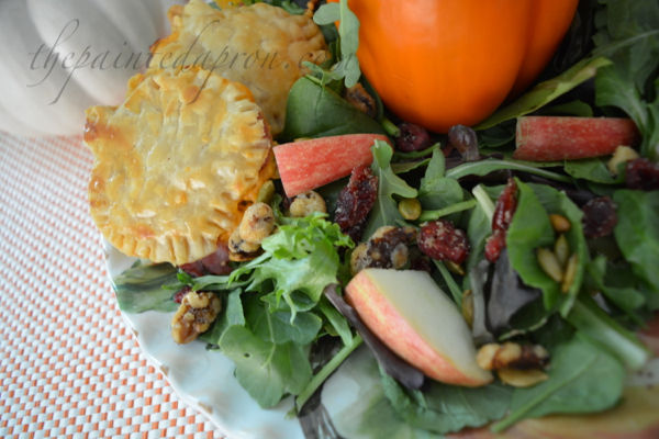 harvest-salad-with-pumpkin-croutons