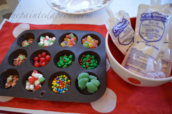 candy-in-muffin-tin-for-houses