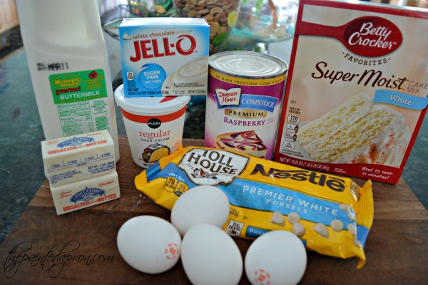 raspberry-cake-ingredients