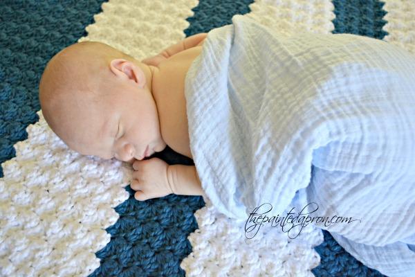 shell-stitch-baby-blanket