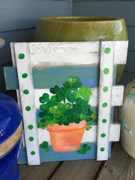 shamrock-pot-welcome-sign