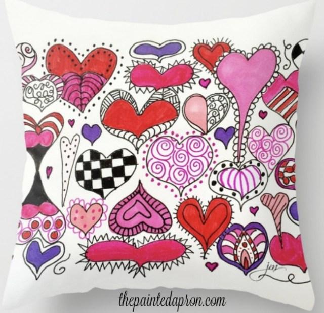 bless your heart throw pillow