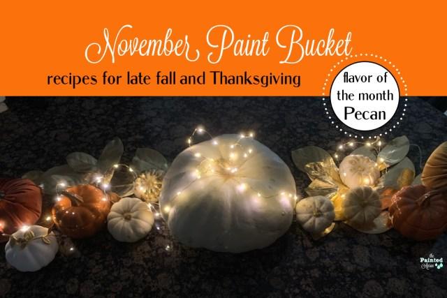 November Paint Bucket
