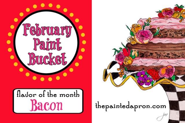 February paint bucket