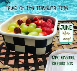 traveling tote giveaway
