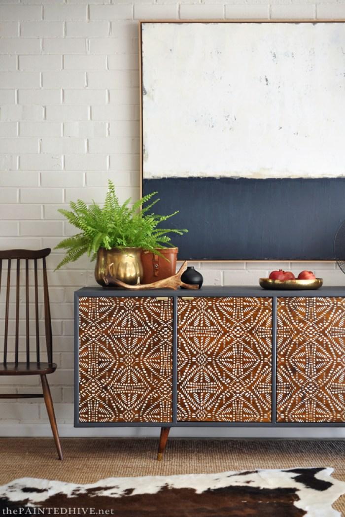 Tribal Sideboard Cabinet