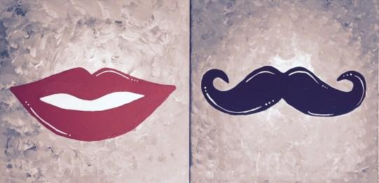 'Stache & Lips