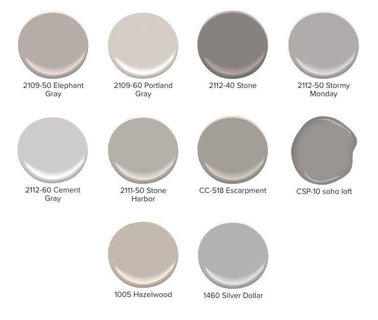 More Than 50 Shades Of Gray The Paint People