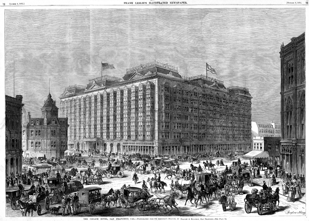Image result for palace hotel san francisco 1875