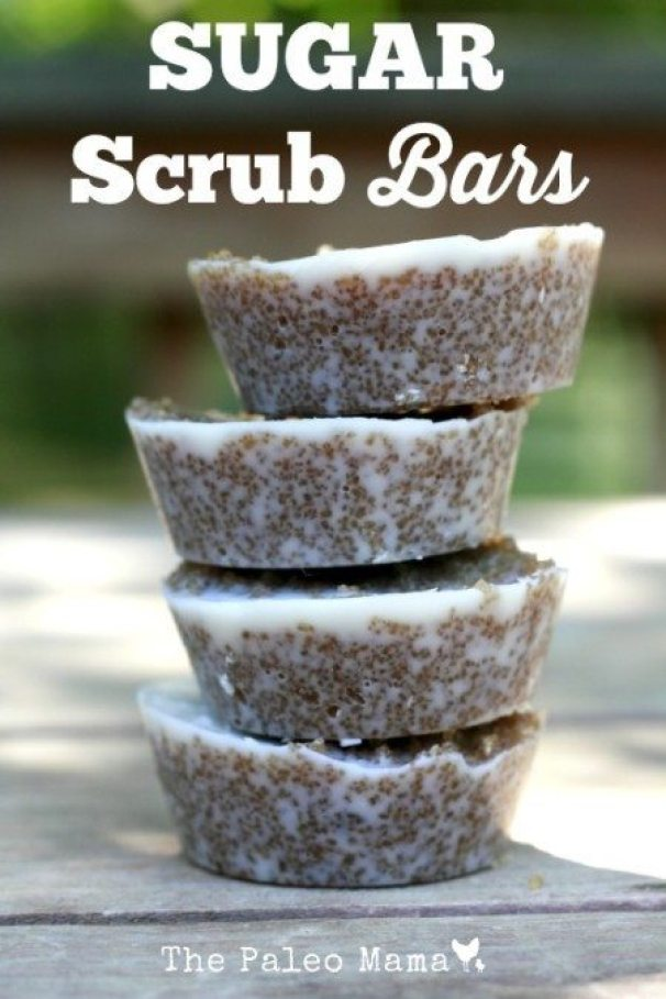 Sugar Scrub Bars recipe