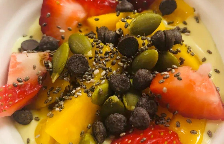 Fruit Custard – Vegan _ Paleo _ AIP