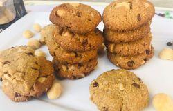 Paleo Macadamia Nut Cookies