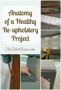 Anatomy of a Healthy Re-upholstery Project