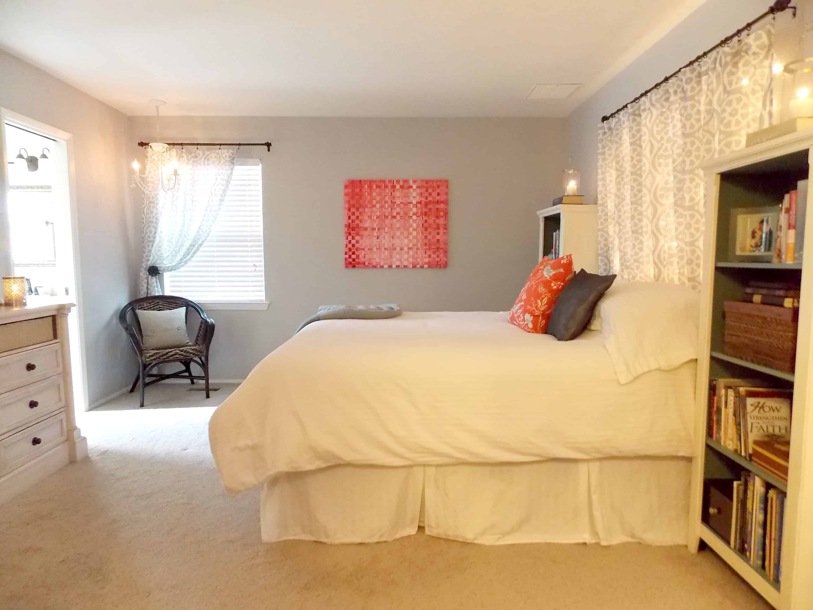 Oh. Master Bedroom Makeover on a Budget   The Palette Muse