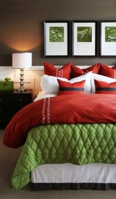 A Contemporary Style Bedroom