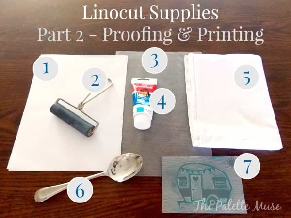 Block Printing Supplies Part 2 - The Palette Muse